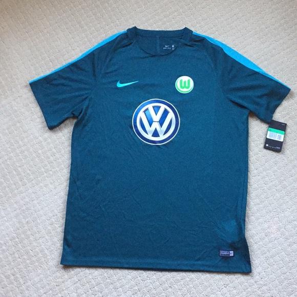 online retailer fa368 dddf9 Nike Wolfsburg soccer jersey. NWT